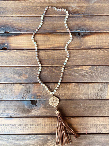 Going Baroque Necklace-Southern Fried Chics