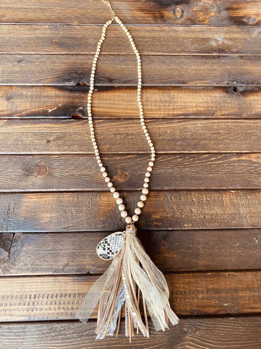 New Infatuation Beaded Necklace-Southern Fried Chics