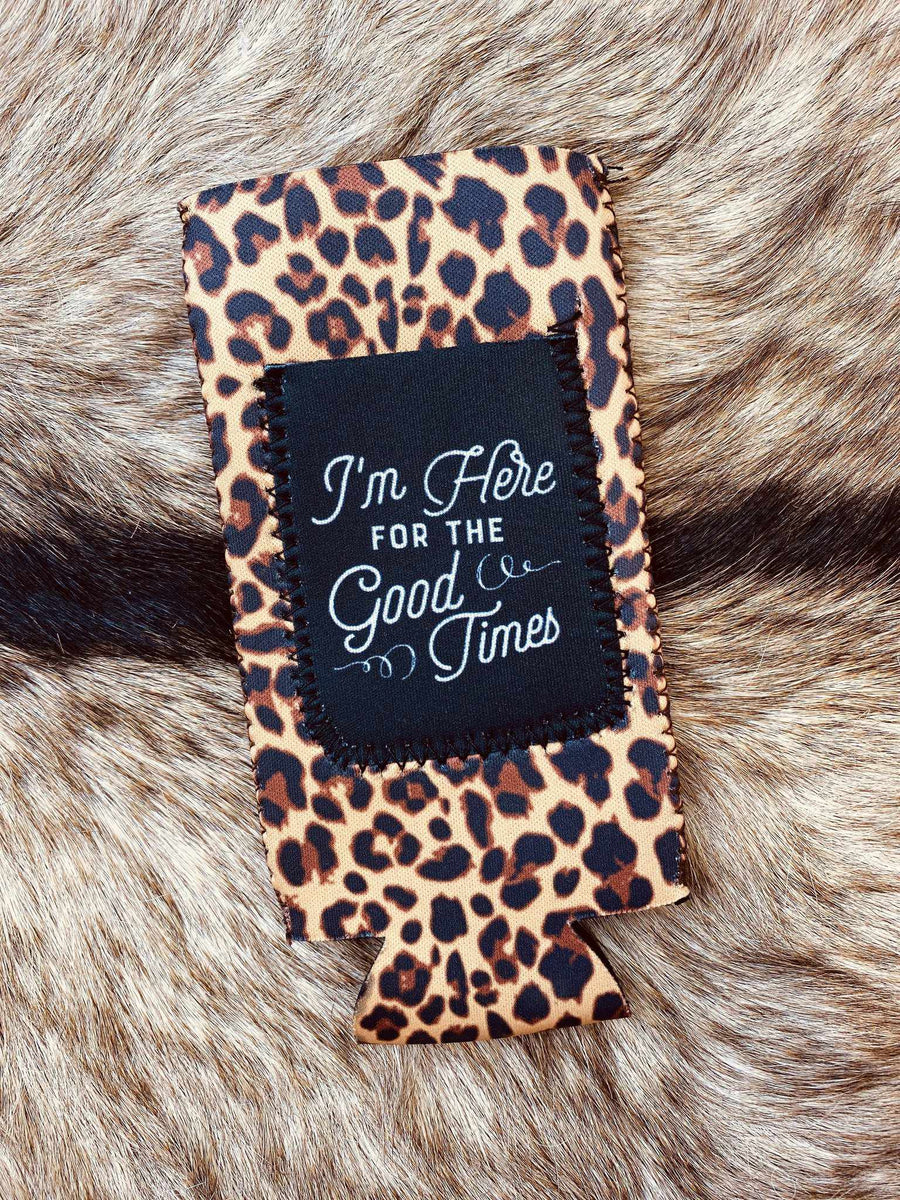 Good Times Slim Can Koozie-Southern Fried Chics