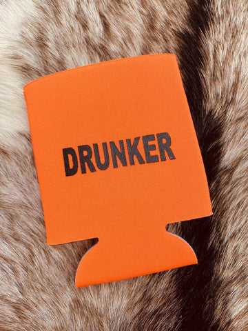 Drunker Koozie - Orange-Southern Fried Chics