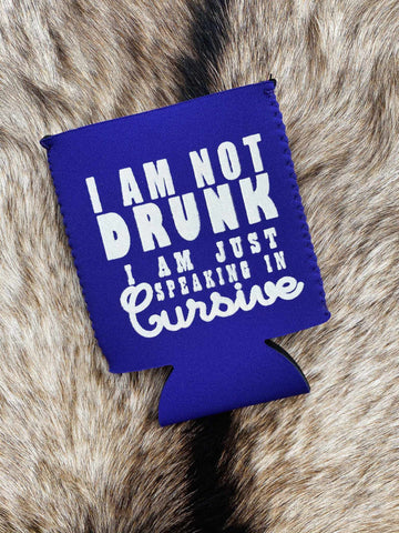 I Am Not Drunk Koozie - Royal-Southern Fried Chics