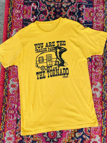 Trailer Park Tornado Tee-Southern Fried Chics