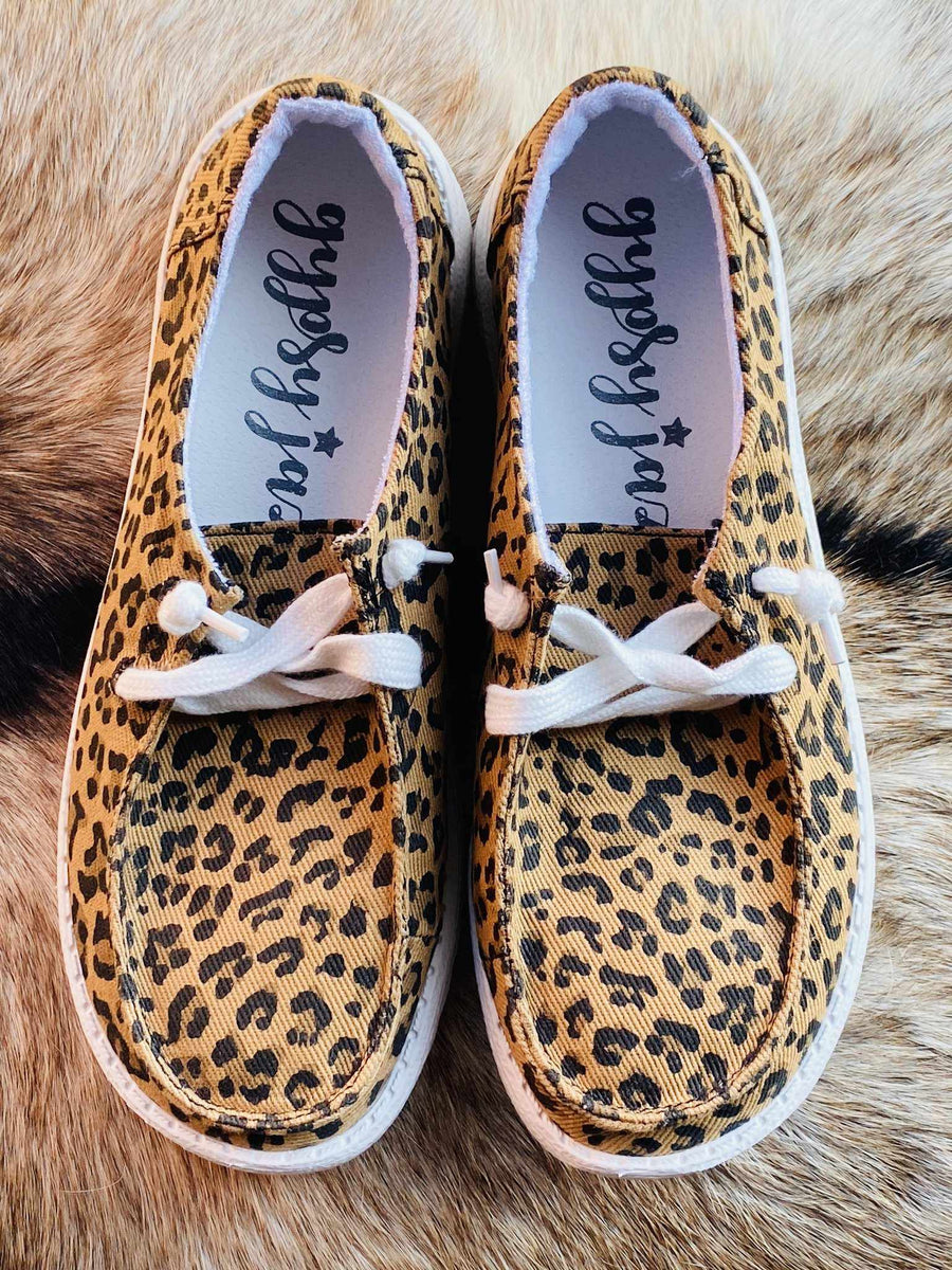 Horray Slip on Loafer - Leopard