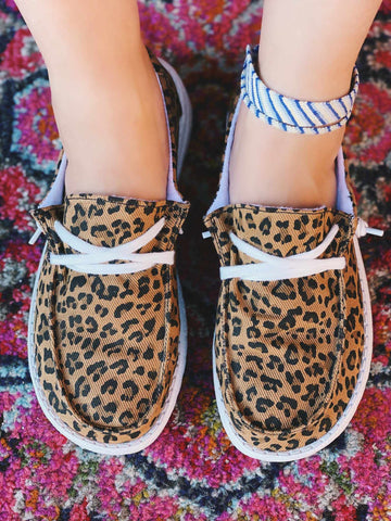 Horray Slip on Loafer - Leopard-Southern Fried Chics
