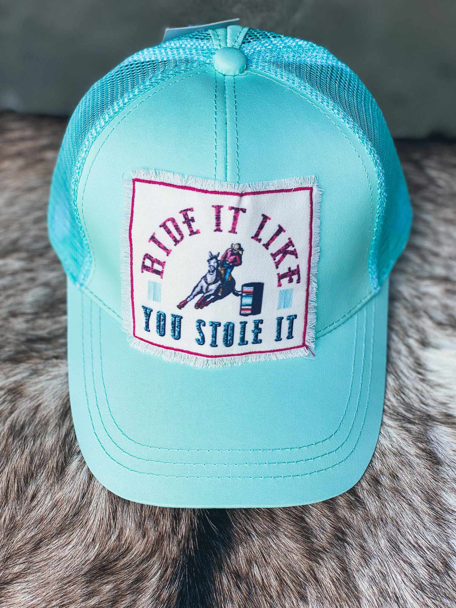 Ride It Like You Stole It Hat-Southern Fried Chics