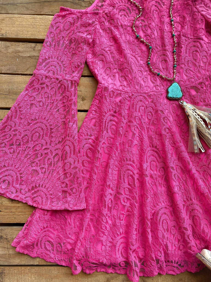 Off The Market Dress - Pink
