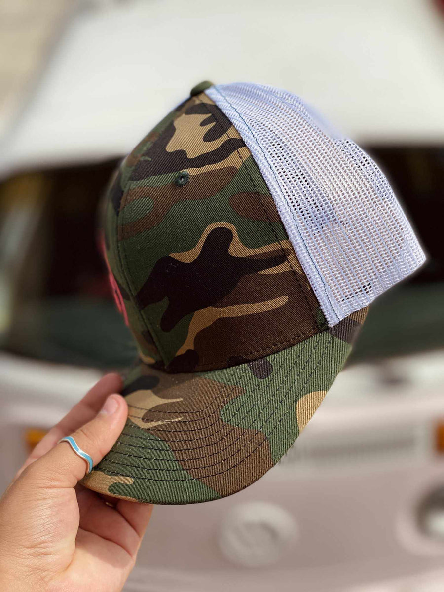 Weekend Hooker Hat - Camo-Southern Fried Chics