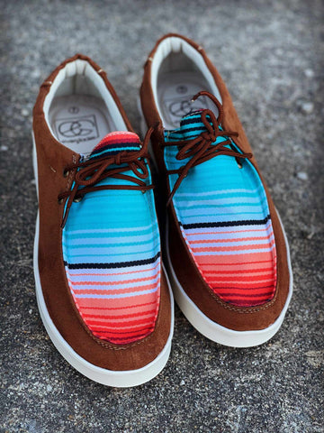 Simple Sunrise Sneaker - Aztec-Footwear-Southern Fried Chics