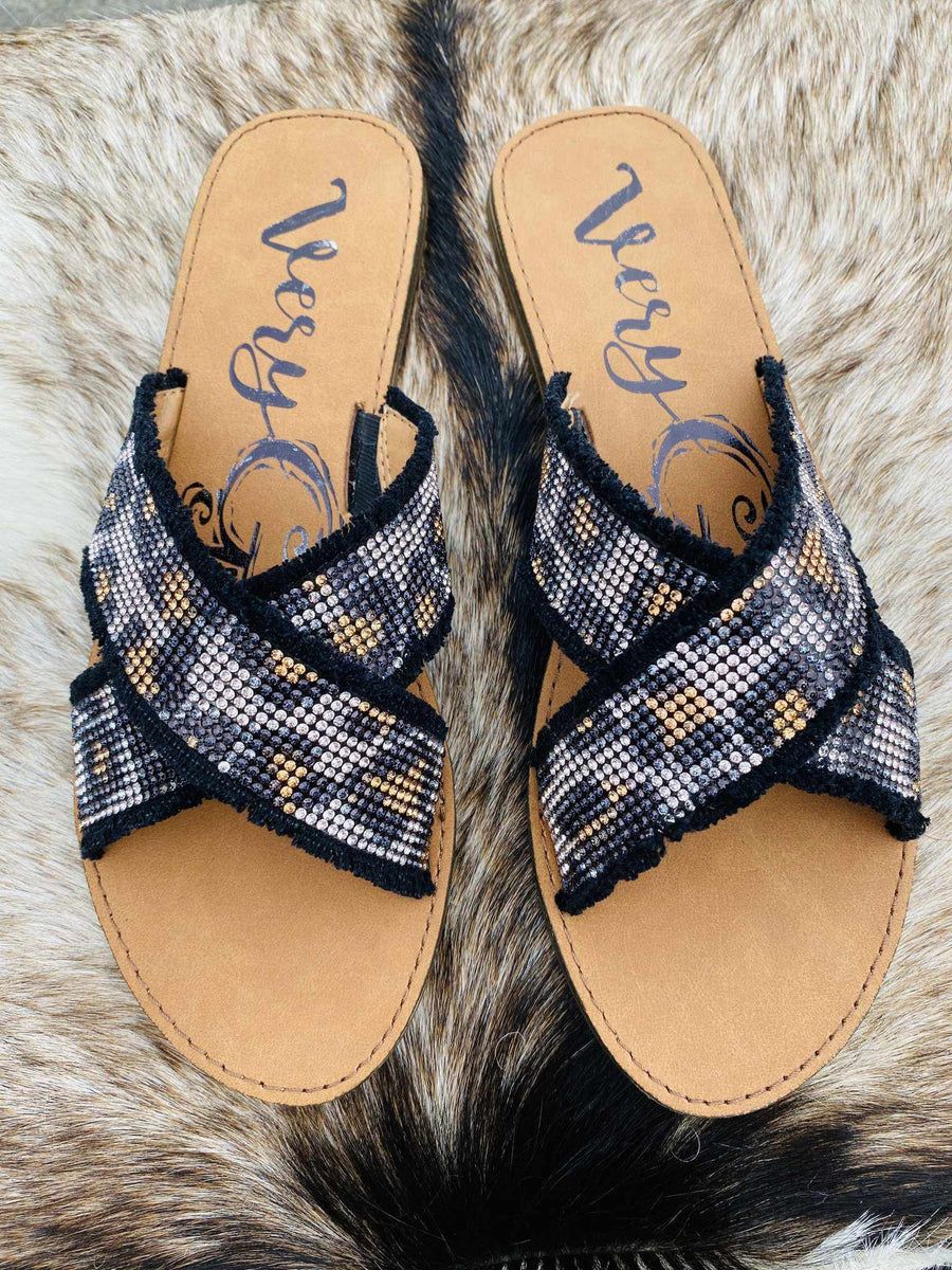 Living Wild Leopard Sandal-Southern Fried Chics