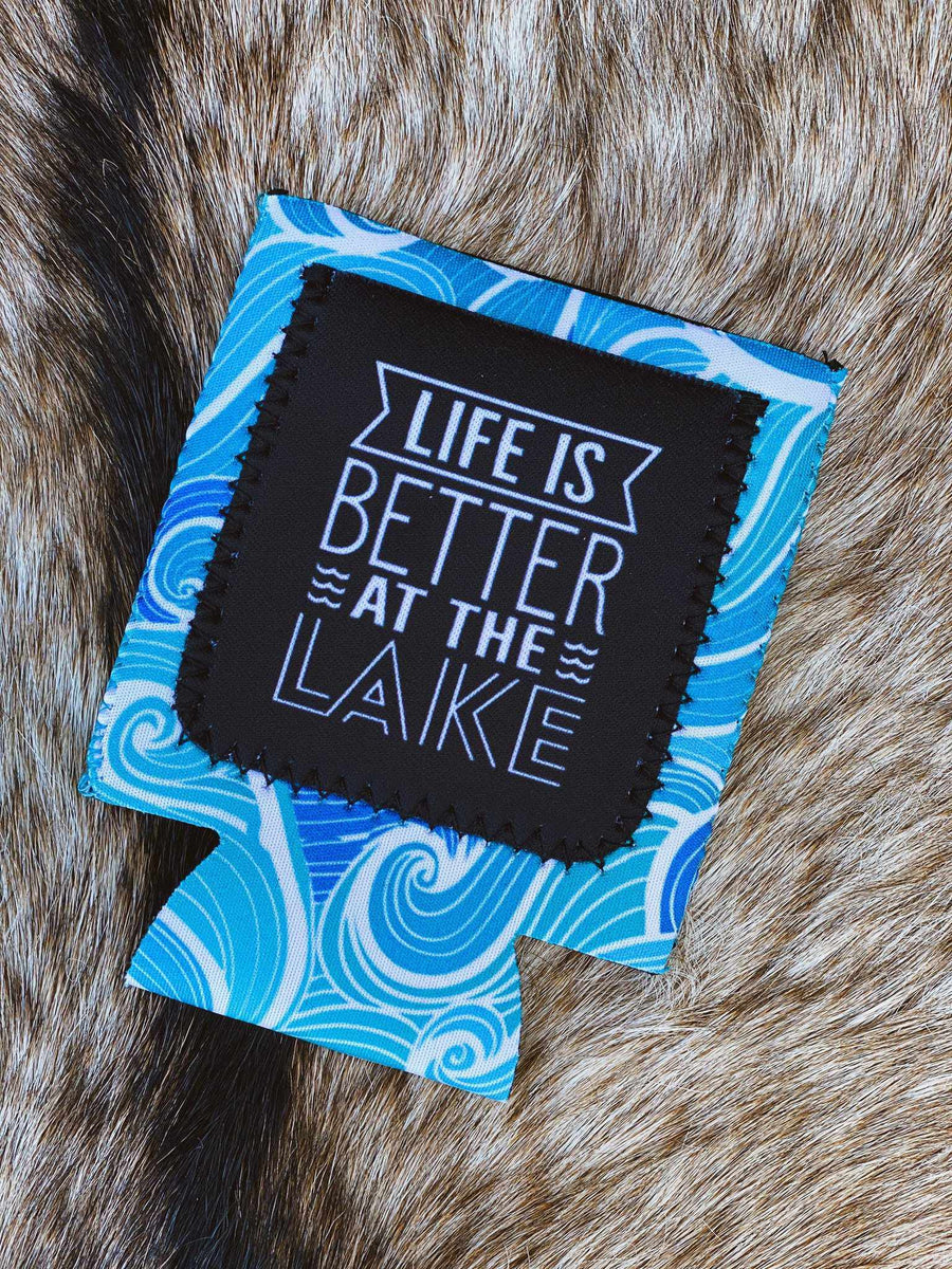 Life Is Better At The Lake Koozie-Southern Fried Chics
