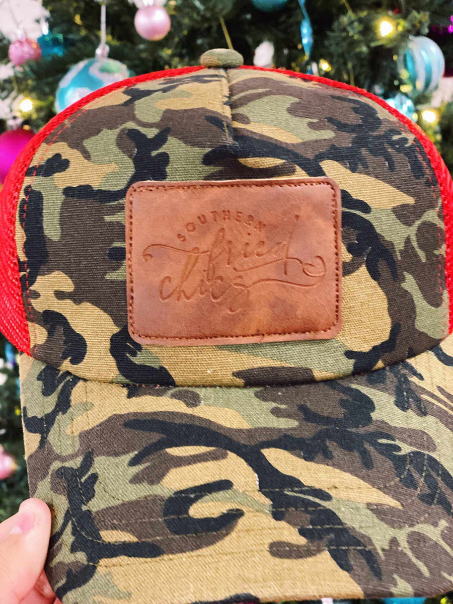 Where My Does At - Leather Patch Hat
