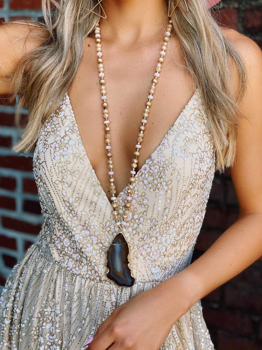 Southern Shimmer Dress-Southern Fried Chics