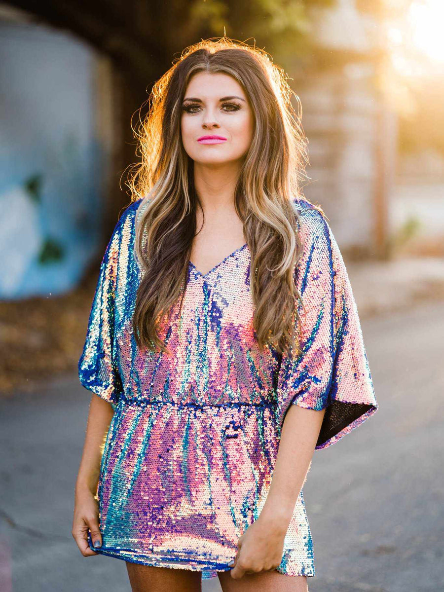Cosmic Cowgirl Tunic Top-Southern Fried Chics