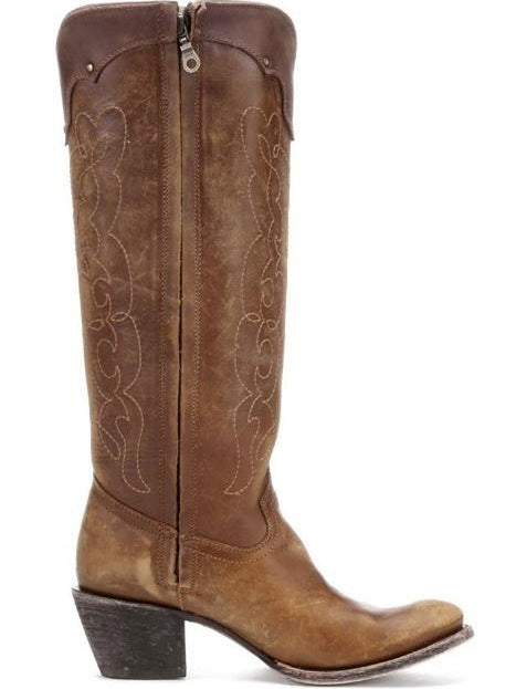 Kats Natural Westport Boots by Corral