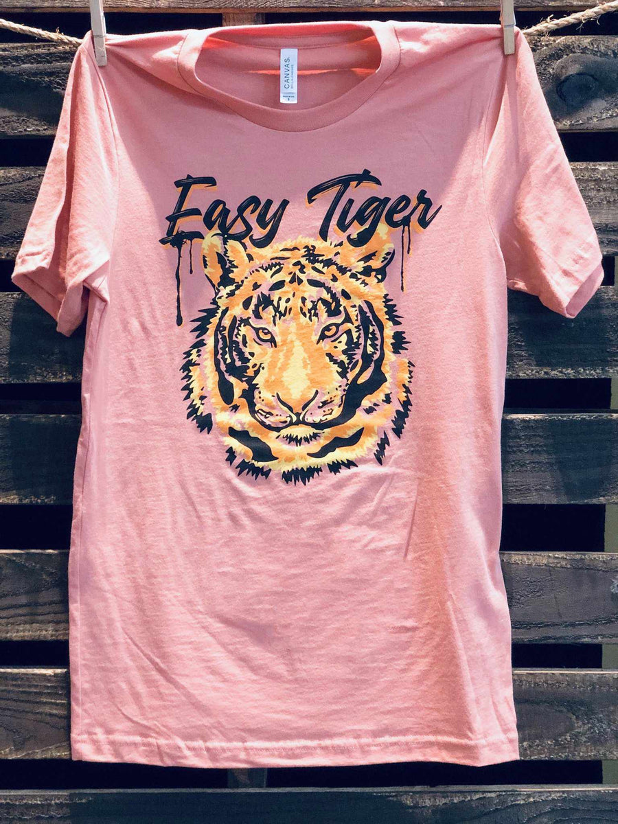 Easy Tiger Tee-Southern Fried Chics