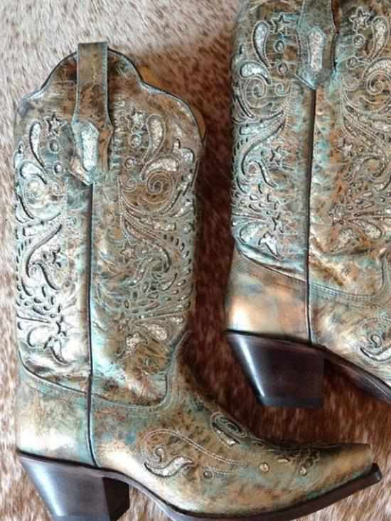 Silver Wing Boot by Corral