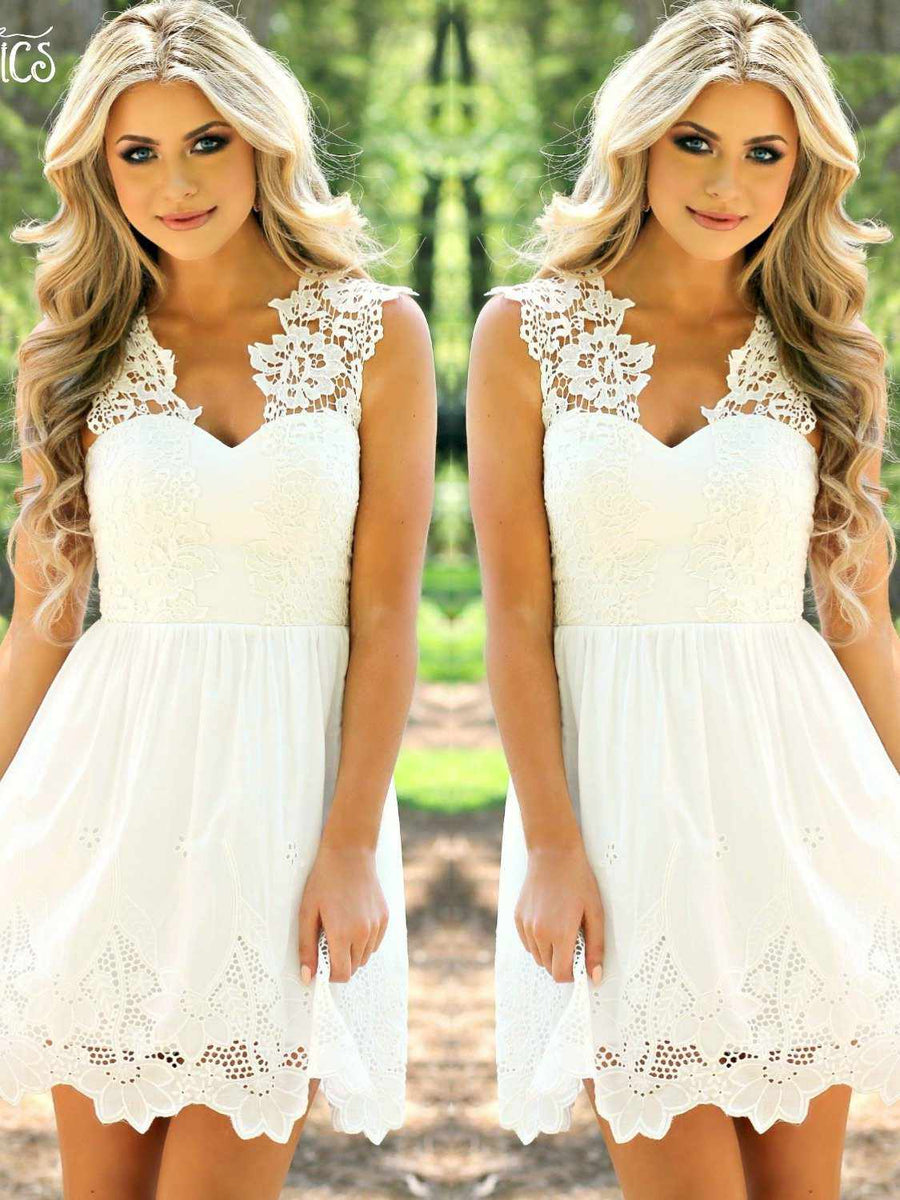 Going To The Chapel Dress - White