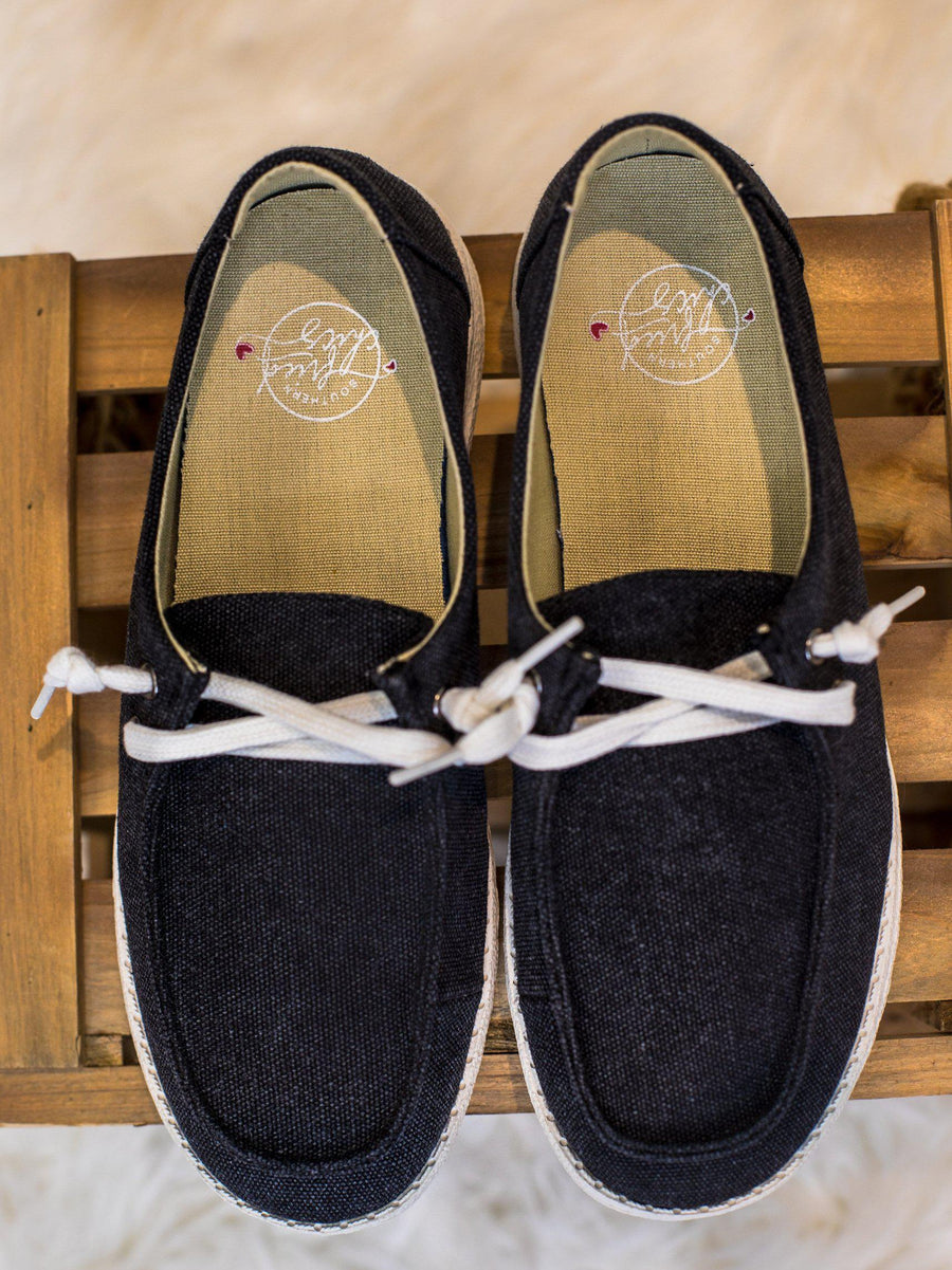 Howdy Chic Loafers - Black