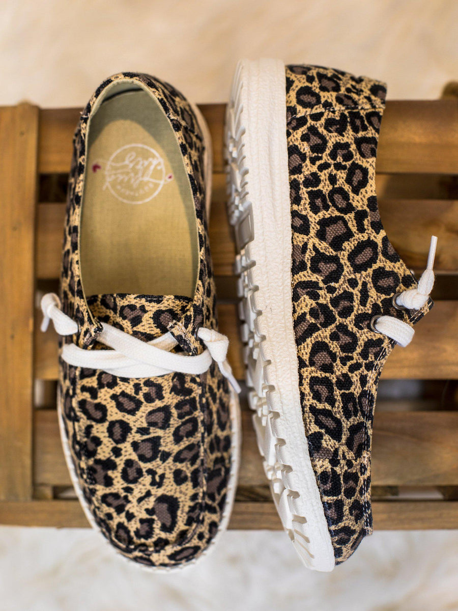 Howdy Chic Loafers - Tri Leopard