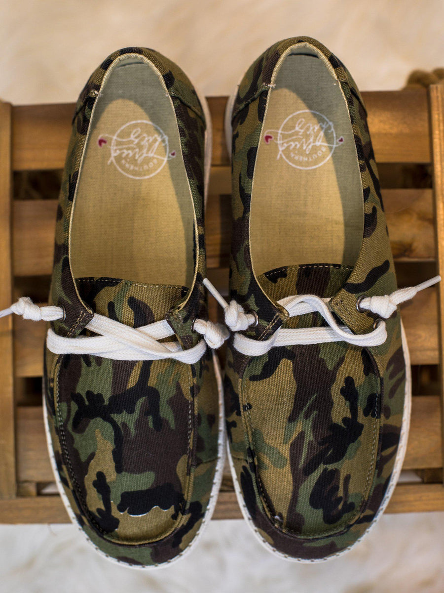 Howdy Chic Loafers - Camo