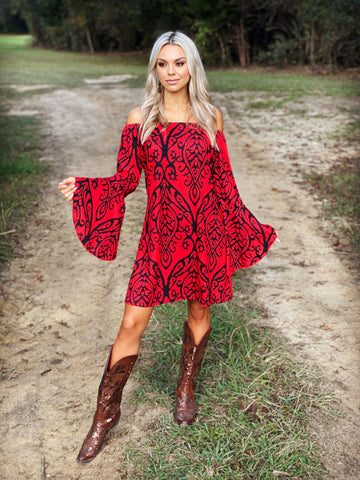The Ring Of Fire Tunic Dress