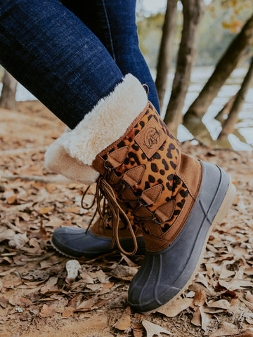 Leopard Fur Kickers
