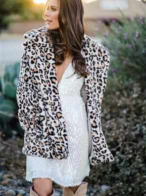 SFC Snow Leopard Coat-Southern Fried Chics