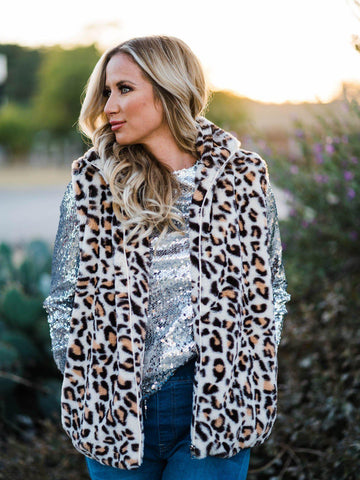 SFC Snow Leopard Vest-Southern Fried Chics
