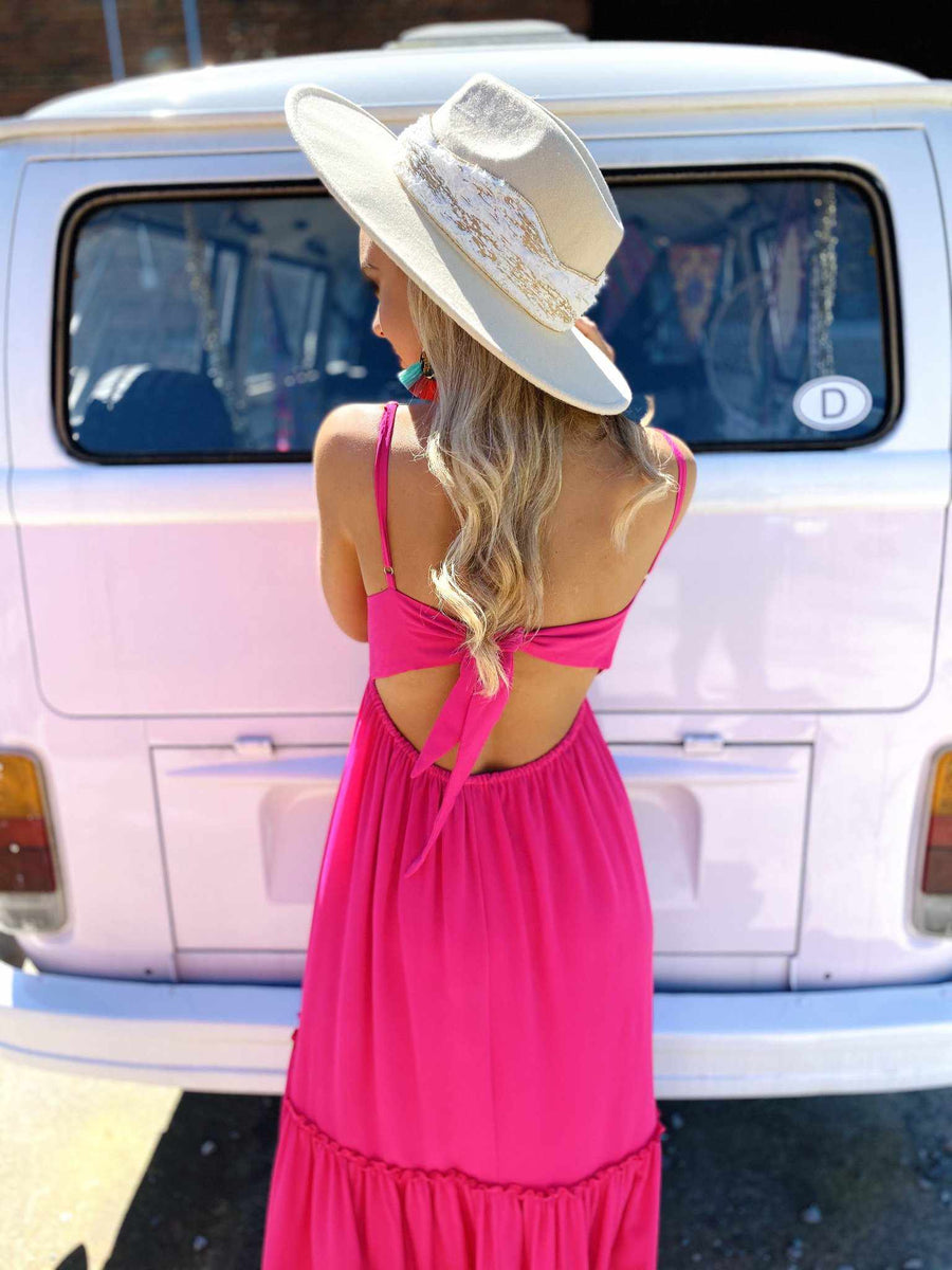 Summertime Sippin Dress - Berry-Southern Fried Chics