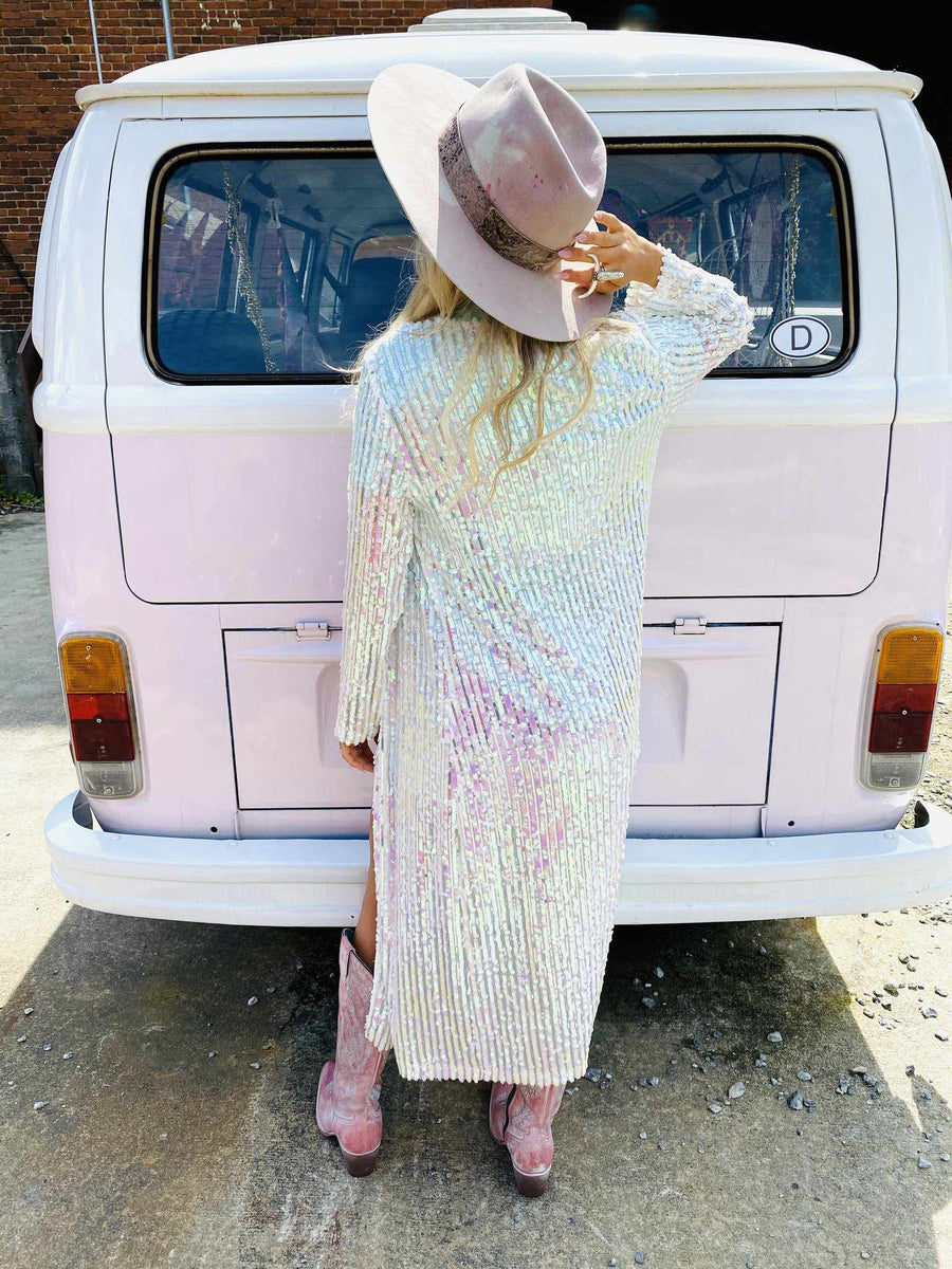 The Unicorn Sequin Duster-Southern Fried Chics