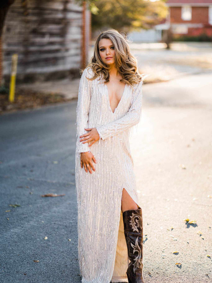 Vintage Chandelier Maxi Dress-Southern Fried Chics