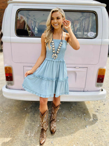 Wave Runner Dress-Southern Fried Chics