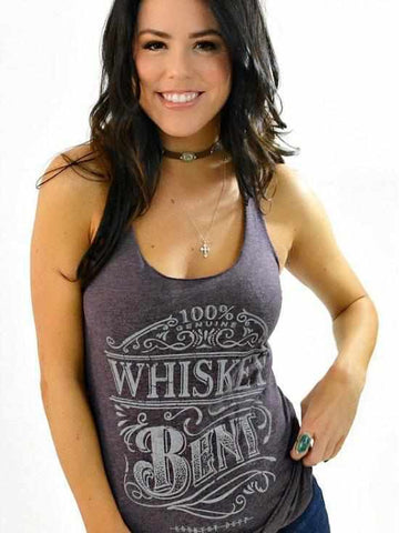 Whiskey Bent Tank Top by Country Deep