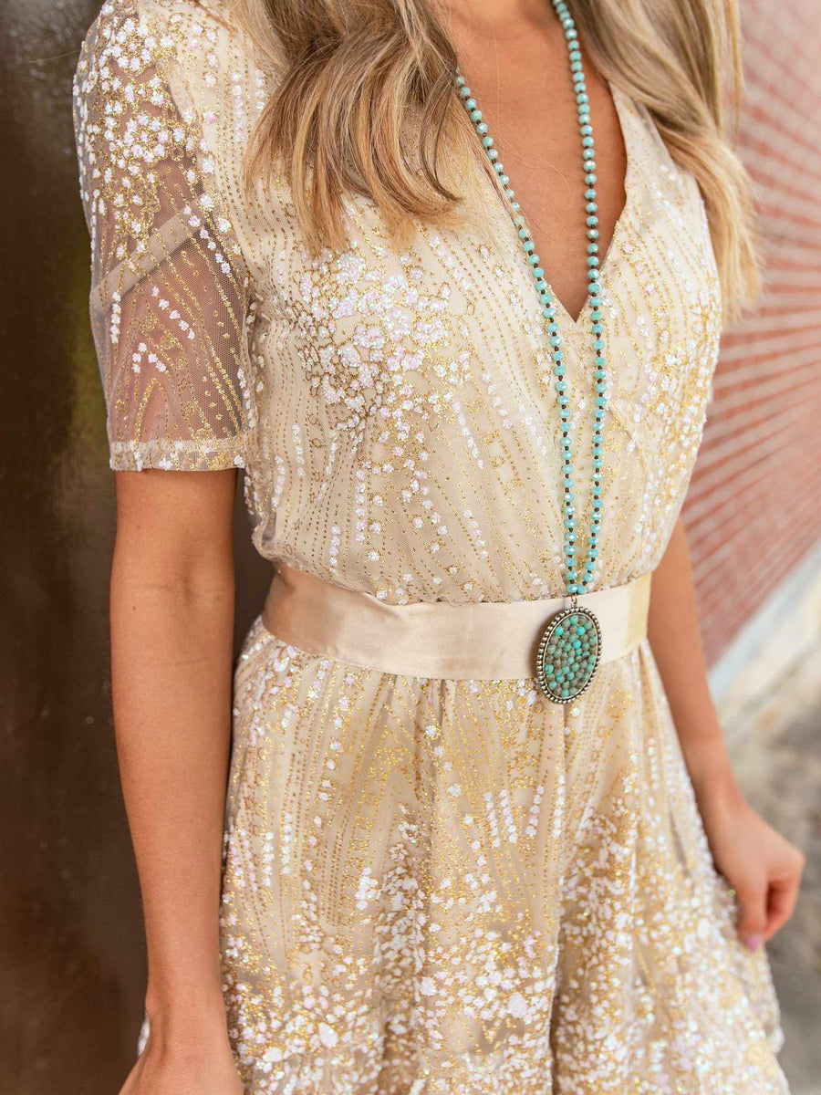 Talk Southern To Me Dress - Ivory