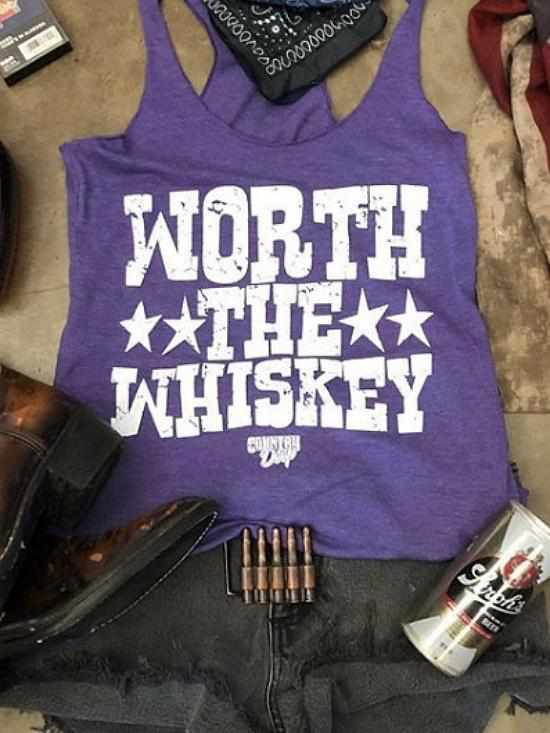 Worth the Whiskey Tank by Country Deep