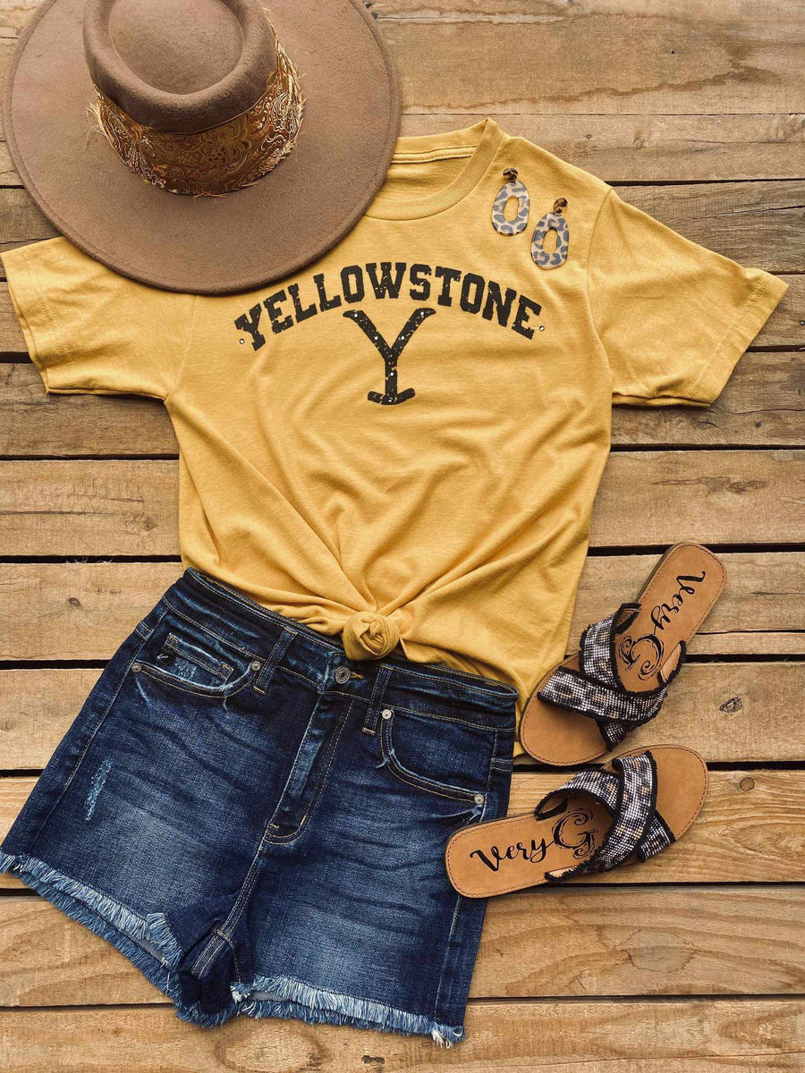 Yellowstone Tee-Southern Fried Chics