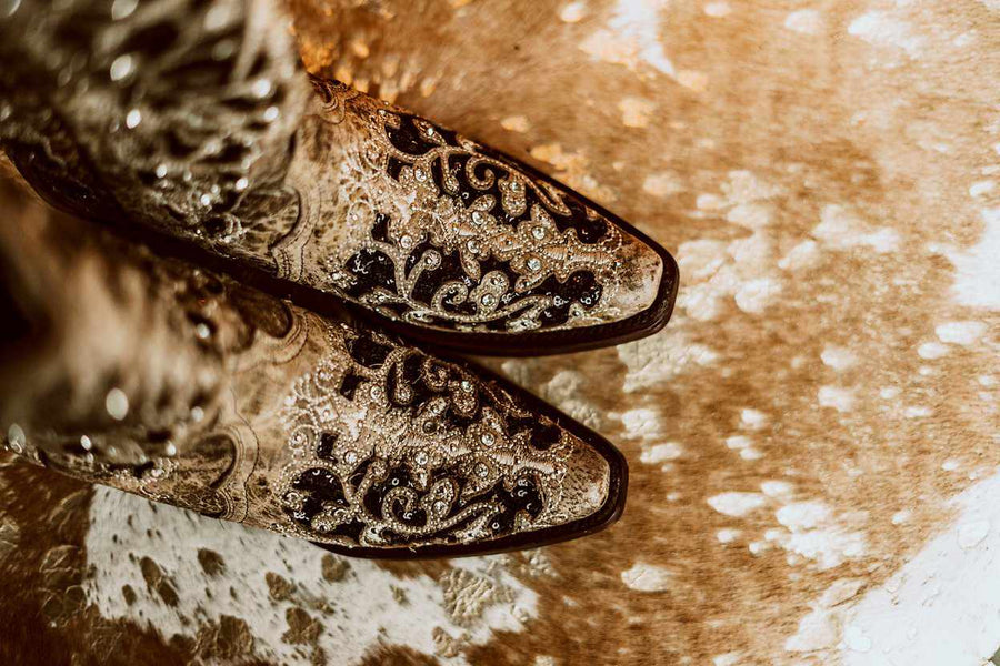 Velvet Perfection Boots by Corral-Southern Fried Chics