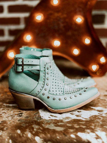 Lovely Lady Turquoise Bootie by Corral-Southern Fried Chics