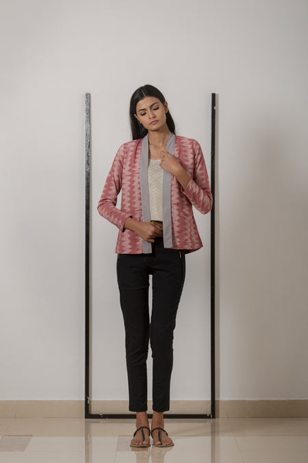 Kiran Houndstooth Coat
