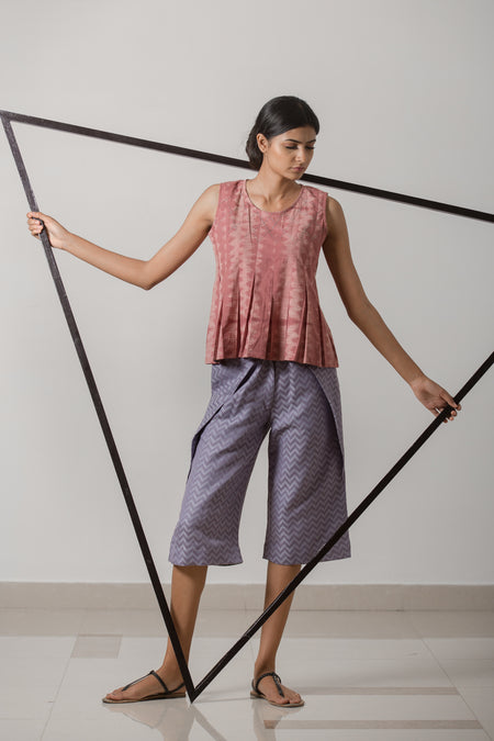 Moksha Natural Flax Skirt