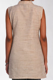 Lorraine Natural - Flax V Neck Tunic