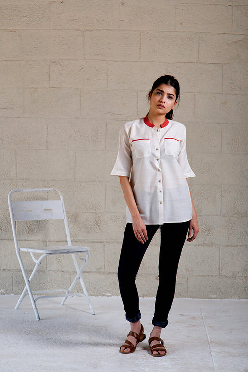Saina Dent - Fabric Shirt