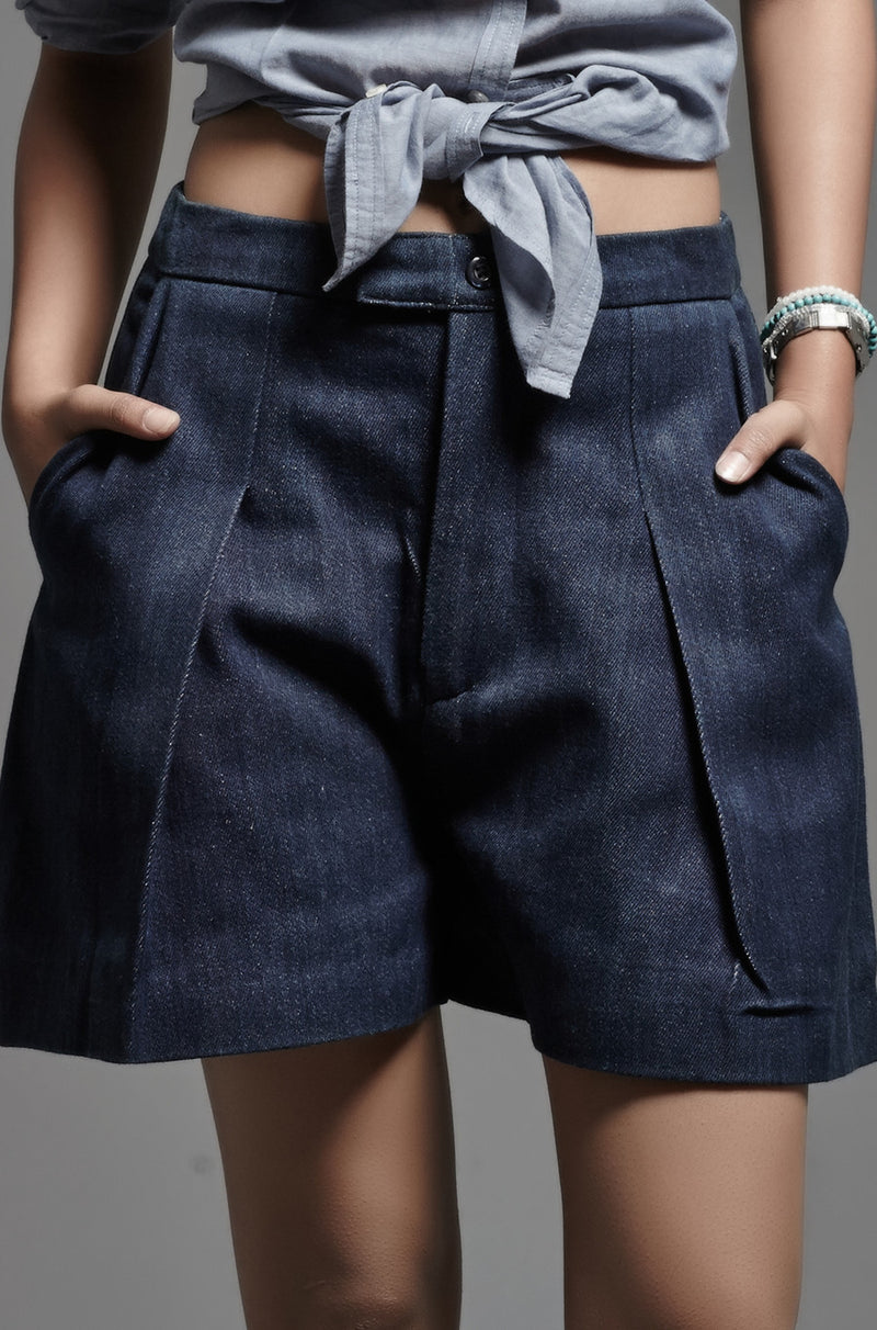 Denim Shorts - noolbyhand.com