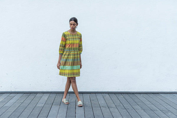 Rainbow Cotton Dress - noolbyhand.com
