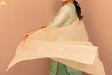 Kora Tissue Chanderi Silk Embroidered Dupatta - noolbyhand.com