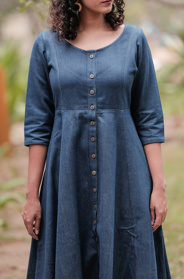 Susan Denim Dress - noolbyhand.com