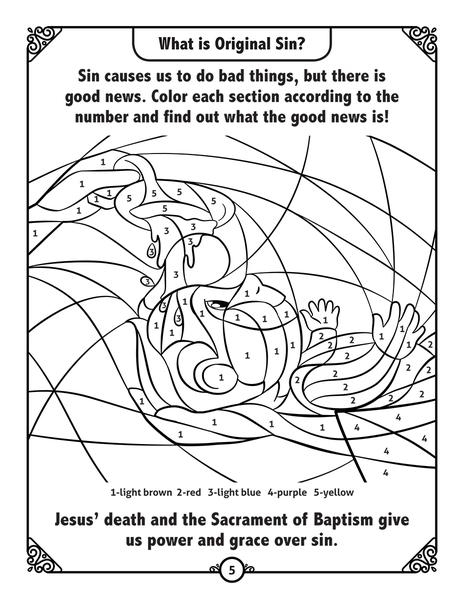 5-Pack of Adventure Catechism Volume 3 - Coloring and Activity Book