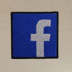 Facebook Embroidery Design