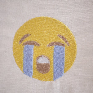 Crying Emoji Design