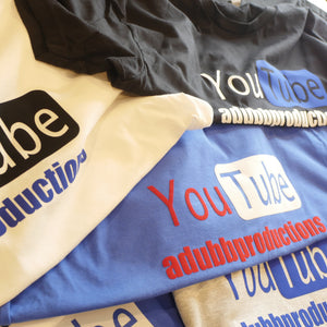 YouTube Promotional Shirt Silhouette Cameo File
